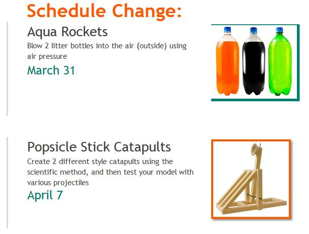 Rockets and catapults